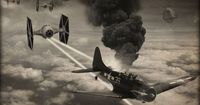 I came across a badass series of World War II Star Wars photos that I had to share with you! As you can see they put iconic elements from the Star Wars universe