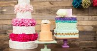 Amazing wedding cakes by Teal Petal Cakes