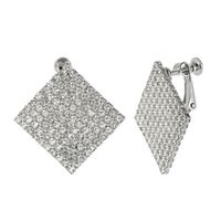 Buy these beautiful diamante earrings in silver colour for your office party. You can get these earrings from Yoko's fashion, the leading wholesaler of fashion jewellery in Uk.