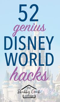 Headed to Walt Disney World? Use some (or all) of these Disney World hacks to make your vacation cheaper, easier and a little more magical!