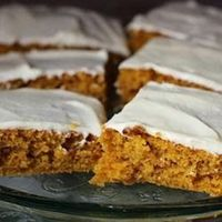Pumpkin Bars | These are very moist, and so far I haven't found anyone who doesn't love them!
