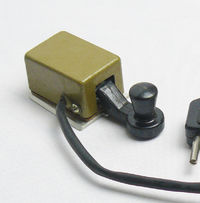 New VTG Soviet Russian Miniature Telegraph Morse Key Military HAM Radio USSR $22.00