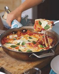 One-Dish Meal: Skillet Lasagna - A CUP OF JO