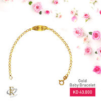 This bracelet is rich looking and elegantly crafted for kids, which Suits to wear in any occasion.