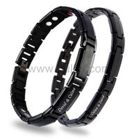 Personalized Engraved Matching Energy Bracelets for Couples Gullei.com