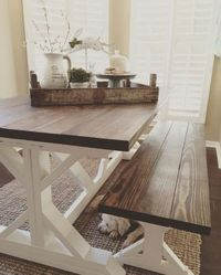 Are you interested in transforming your dining space from a bland, lifeless layout to a charming farmhouse design that's warm and welcoming? Is your new design