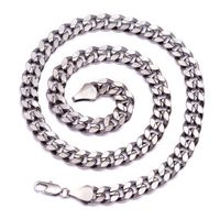 Gunmetal Hematite Plated Curb Chain Necklace £19.95