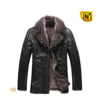 Lambskin Shearling Jacket Coat Mens CW819068