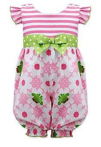 Bonnie Jean® Floral Frog Party Pants Toddler Girls