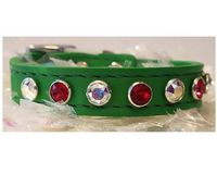 Merry Christmas Small Dog and Cat Collars with Swarovski Crystal Bling $28.00