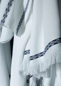 Belem Bath Towels by Alexandre Turpault $76.00