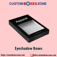 Custom eyeshadow boxes help you to not only protect your product but also increase your sales to a remarkable level