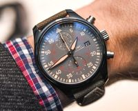 Replica IWC Pilot Chronograph Top Gun Miramar Price
