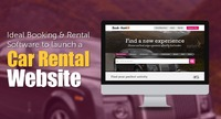 Launch your own car rental website using booking and rental software