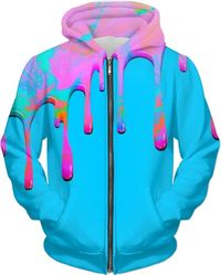 ROMH Dripping Paint Blue Hoodie $89.00