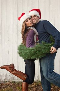 love this cute christmas pose.. Im going to do this!