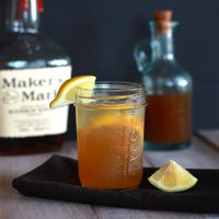 syrup, gingers and simple syrup.