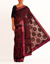 online shopping for block printed sarees are available at www.unnatisilks.com