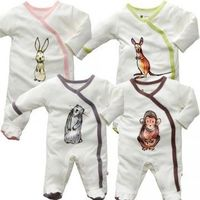 Janey Baby Chimp Organic Sleeper - a portion of proceeds go to support the programs of the Jane Goodall Institute.