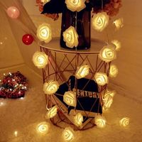 1.5Meters 10 Roses Flower Garland LED Holiday String Lights Christmas Decorations for Home Christmas Tree New Year Decoration (568 x 568)