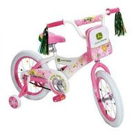 John Deere - 16'' Girls' Bicycle..I would have bought this for Maddison if I found this before we bought her the princess one! This is too cute!!!!