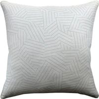 Deconstructed Stripe Greige Pillow $282.00