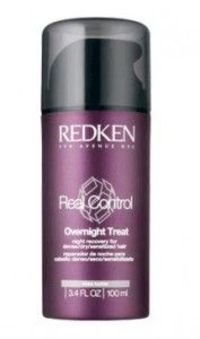 Redken Real Control Overnight Treat 100ml Indulgent night recovery treatment absorbs instantly to condition renew and restore damaged hair during sleep for rejuvenating softness and lasting c http://www.comparestoreprices.co.uk/hair-care-products/redken-r...