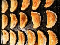 """I love empanadas because you can eat them hot, cold or warm. The person I know who makes them the best is chef Andrea Bergquist �€"""" her pastry always comes out pe"""
