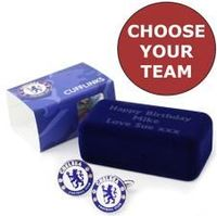 Personalised Official Football Club Cufflinks