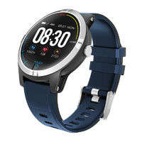 Bakeey E101 ECG+PPG HRV ECG Heart Rate Blood Pressure Monitor Remote Care Real-time Message Push Smart Watch
