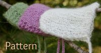 Knitting Pattern Newborn Lacy Baby Bonnet Mohair by PropShop, $3.00