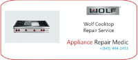 Are you looking for certified Wolf Cooktop Repair service provider in NY and NJ area? Get your home appliance fixed by an industry expert. Call us to get free examination of your Wolf Cooktop selectively.