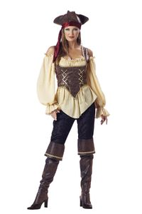 Rustic Pirate Lady Adult S $123.91 https://costumecauldron.com