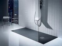 +++antirutsch Bodenbelag in der Dusche --- aufputz Armatur dusche Anti-slip rectangular shower tray TERRAN by ROCA