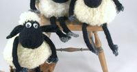 Baba the sheep pdf knitting pattern,,,reminds me of Shawn the sheep and little Timmie