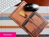 Mousetrap Pattern Mouse Pad - feelgift.com