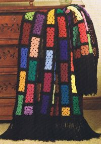 Treasures of the Deep - Crochet Afghan Blanket