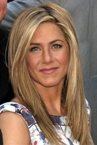 I love Jennifer Anniston because she is a symbol of Beauty and female strength, and she can wear ANY hair style !!! My new style as of today!!