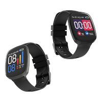 Bakeey SX10 Heart Rate Blood Pressure Oxygen Monitor Multi-sport Modes IP67 Long Standby Smart Watch