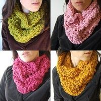 Click the image above or the link below to be taken to the new location for this free knitting pattern! Chunky Lace Cowl ~ Free Knitting Pattern!