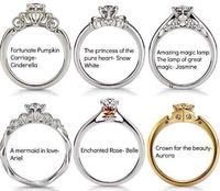 Disney came out with its own Princess engagement rings!!! What's next?!