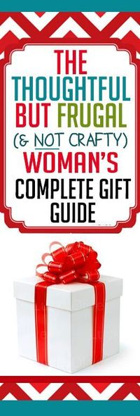 Great list of creative inexpensive and thoughtful gifts for Creative affordable christmas gifts