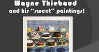 Power point on Thiebaud. Nice, casual questioning techniques to help students look for specific elements in his work.
