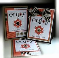 enjoy stamp set cards