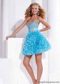 Sparkly Sequin Ruffled Dress for Homecoming Hannah S 27717