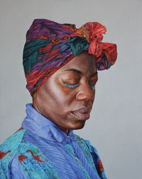 Alan Coulson is a London based contemporary realist artist, working predominantly in portraiture. His artwork is meticulously detailed with a freshness, percept