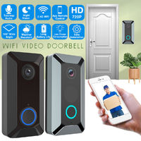 HD 720P WIFI Video Doorbell Camera Radio Bell Infrared Night Vision Doorbell Real-time Intercom