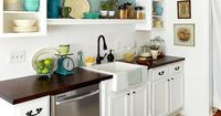 Create luxury in even the tiniest kitchen with 8 ideas to add style to your small kitchen.