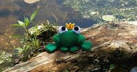 Ravelry: Frog Prince pattern by Brenna Eaves