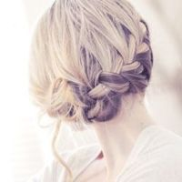 Learn how to do this gorgeous french braided hair style on your own!